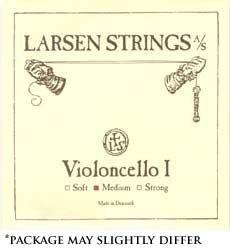 """Larsen up to 16.5"""" Viola String Set Medium Gauge with Loop-End A"""